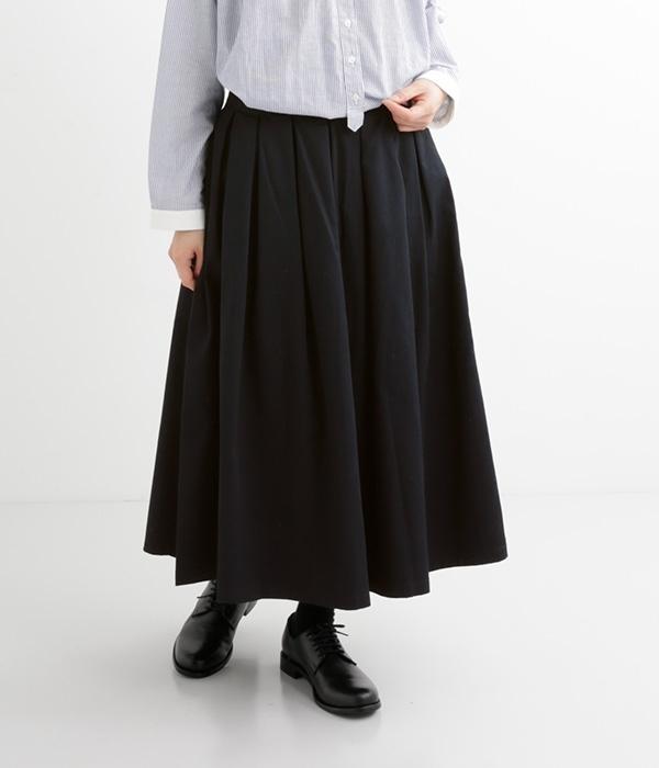 定番チノプリーツスカート(B・ネイビー)【入荷待ち】