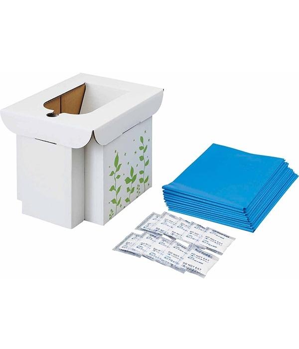 緊急用組み立て式トイレ(カラー1)