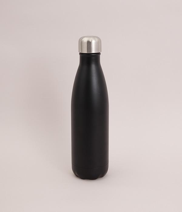 リボトル 500ml 無地(B・マットブラック)