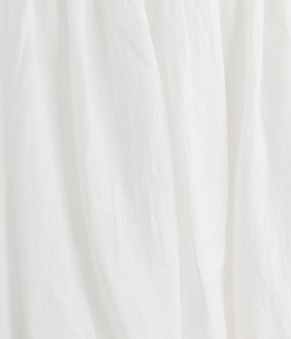 シングルガーゼ ペチコート(A・オフホワイト)