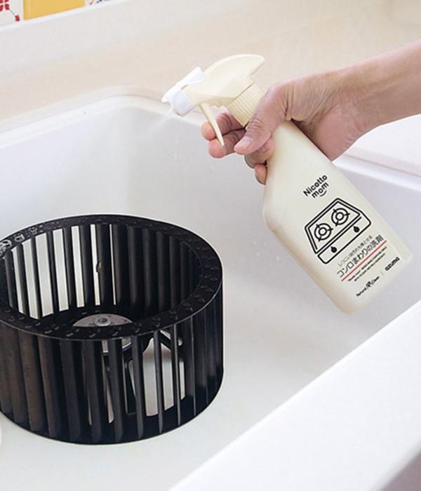 無添加 しつこい油汚れも落とせるコンロまわりの洗剤(カラー1)