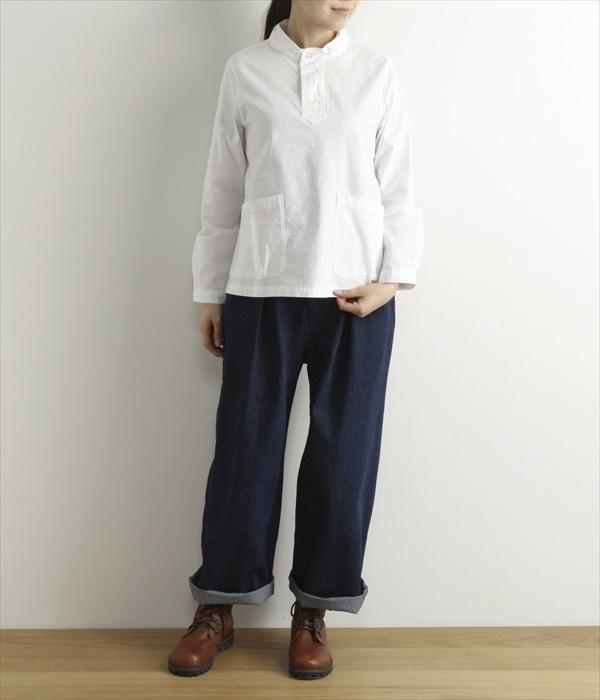 コットンオックスシャツ(A・オフホワイト)