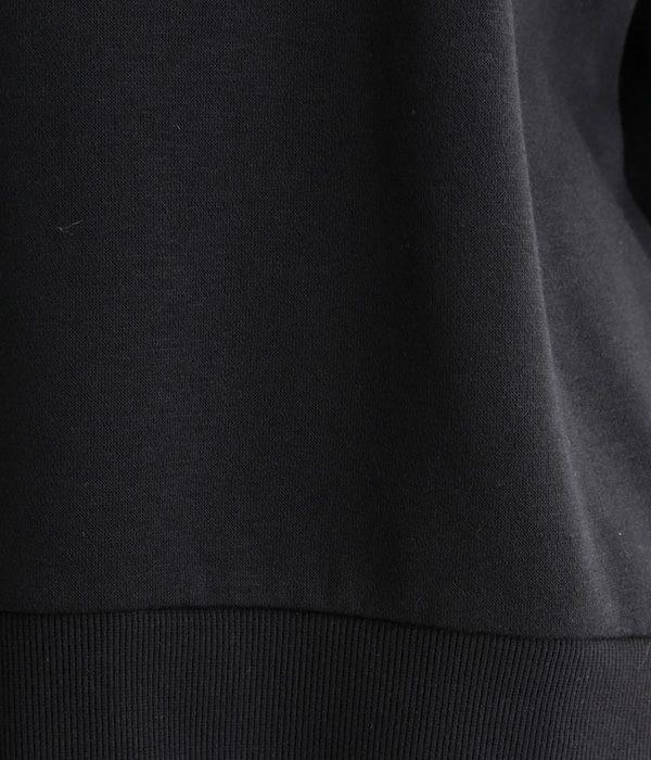 ぷっくり袖プルオーバー(ブラック)
