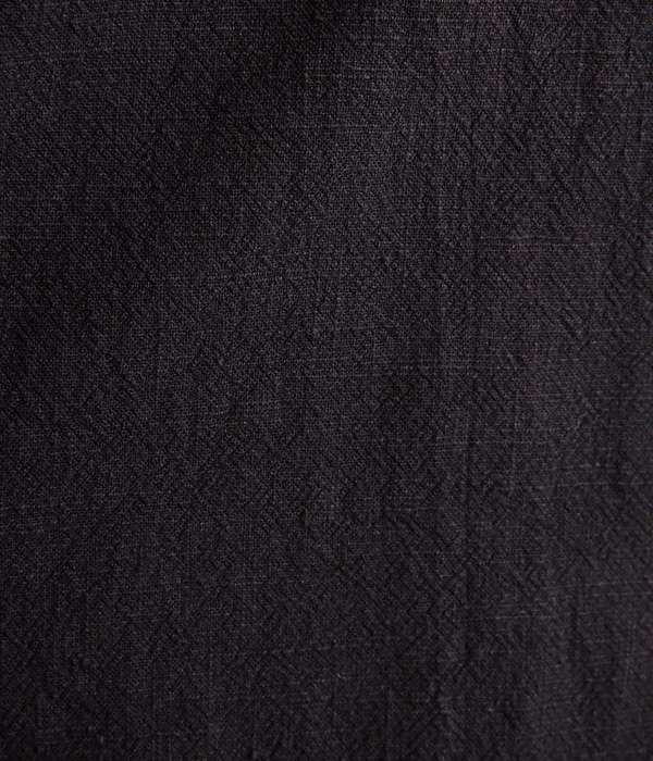 リブワンピース(A・ブラック)
