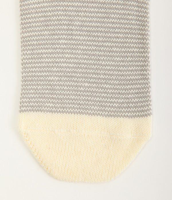 2足重ね履き靴下 シルク×エコリッチコットン(C・キナリ)
