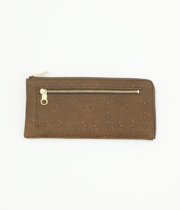 モリス L型長財布(B・チョコ)