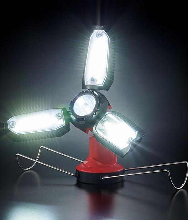 バッ!と広がる多角度LEDランタン(カラー1)