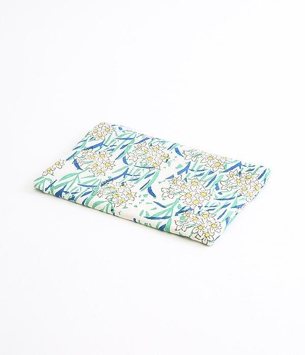 Water lilyポーチ(A・ネイビー)