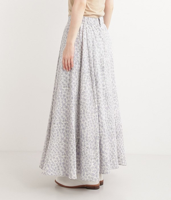 Flore 起毛カディスカート(B・パープル)
