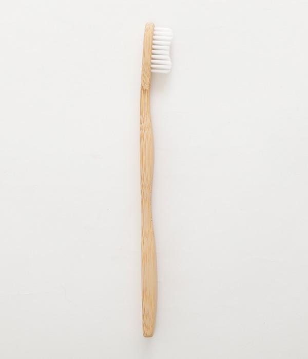 歯ブラシ大人用 Bamboo toothbrush(A・ホワイト)