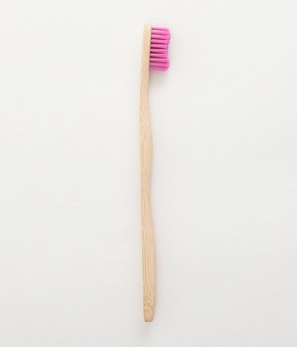 歯ブラシ大人用 Bamboo toothbrush(B・パープル)