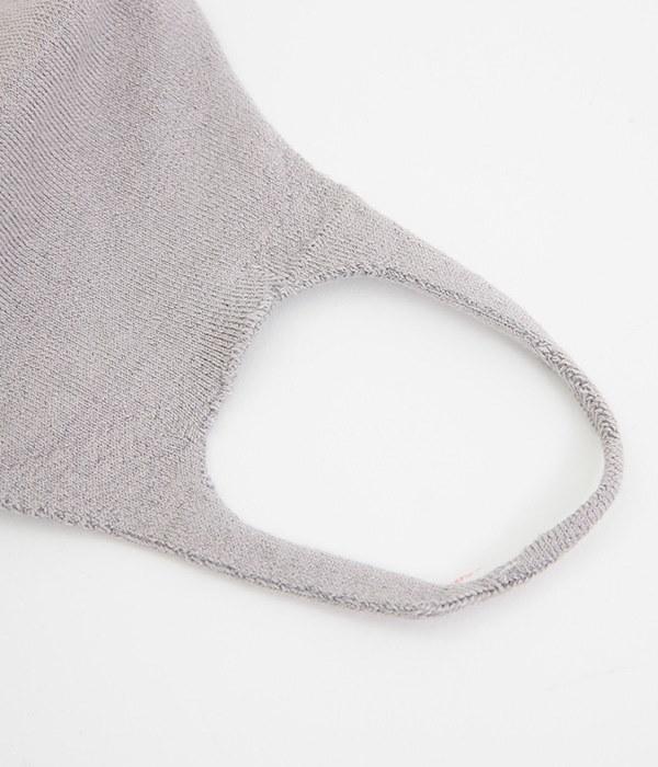 肌面シルク無縫製マスク(B・ライトグレー)