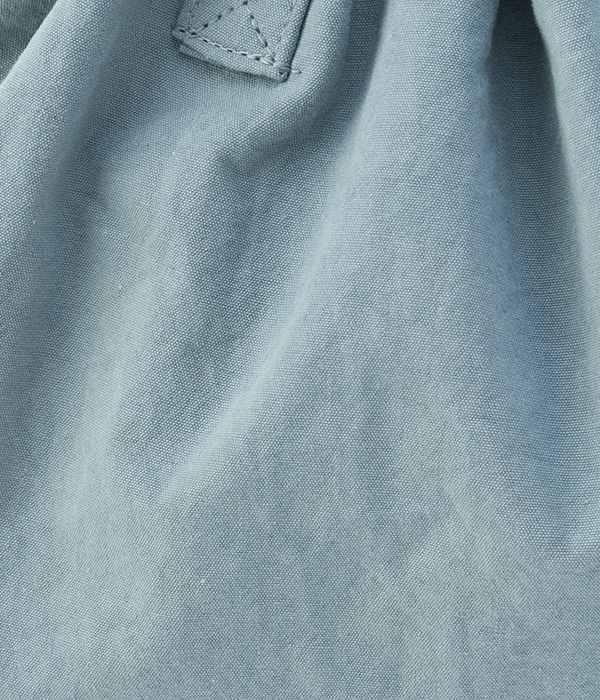 天日干しコットン巾着中(C・ライトブルー)