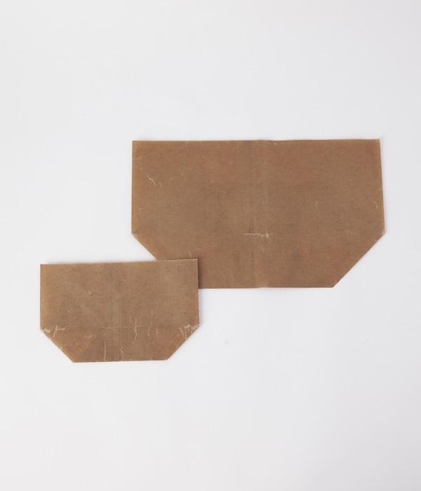 蝋引紙袋 亀甲七型 20枚入り(カラー1)