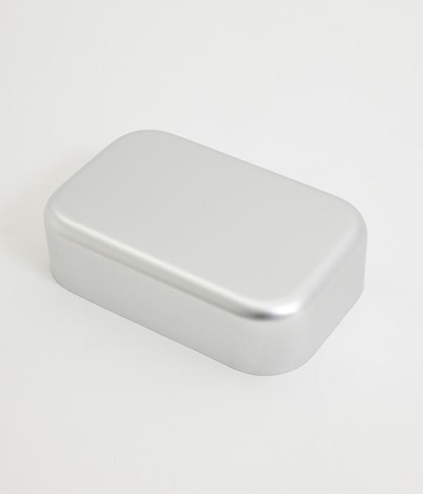アルマイト弁当箱(A・シルバー)