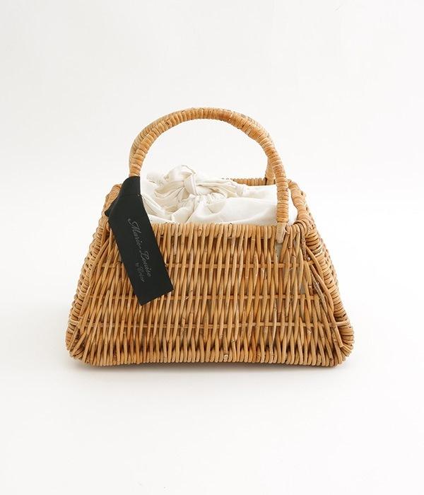 ラタン内布つきカゴバッグ(カラー1)