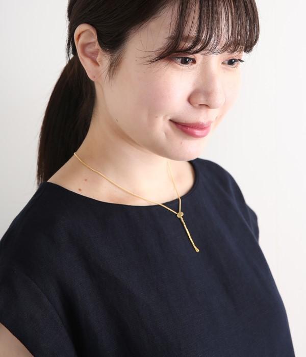 えのき一本 ネックレス(カラー1)