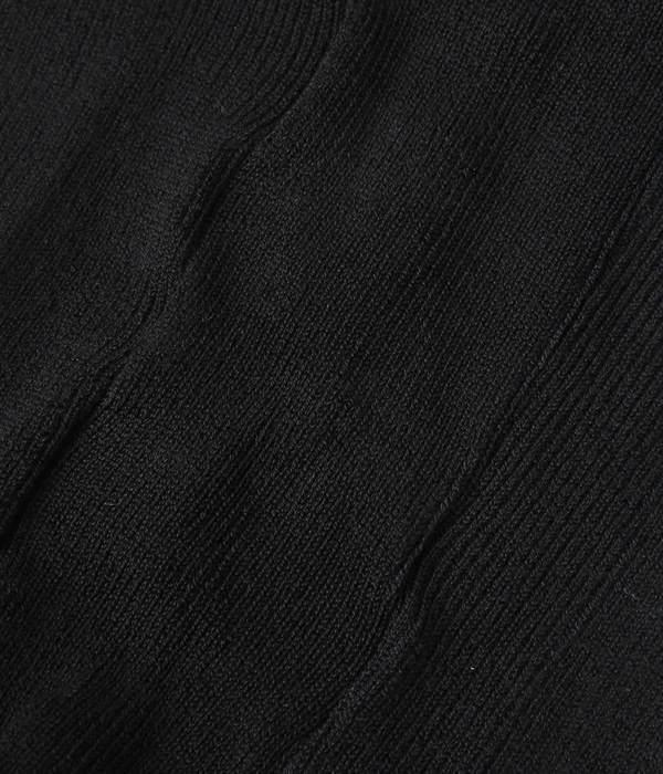 シルクリブレギンス(C・ブラック)
