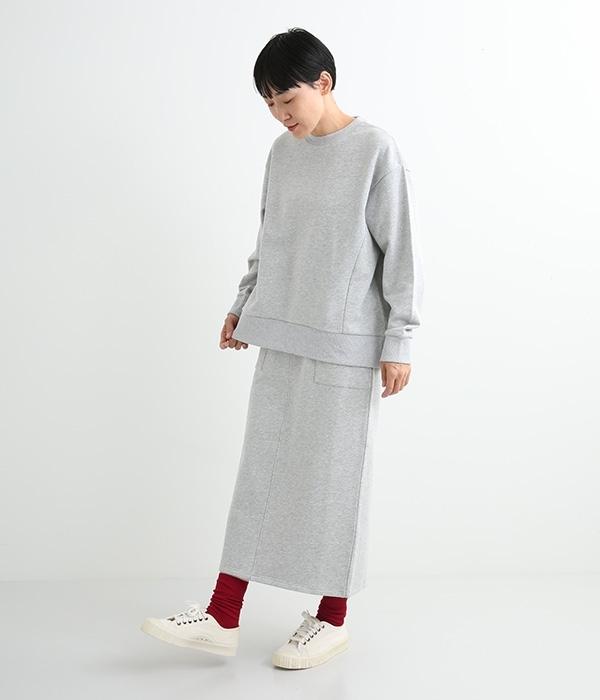 メリノウールリブソックス【シーズンカラー】(F・ワインレッド)