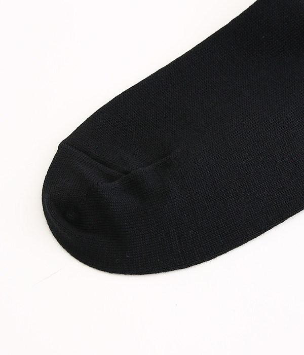 コットンスムースタイツ(C・ブラック)