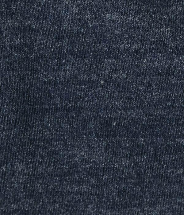 オーガニックコットン メランジプレーン レギンス(E・杢ネイビー)
