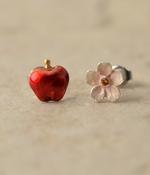花リンゴピアス(カラー1)
