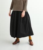 タックフレアースカート(D・ブラック)
