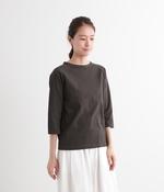 ムラ糸ラグラン7分袖Tシャツ(J・スミクロ)