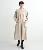 リネン起毛サージカルドレス(B・キナリ)