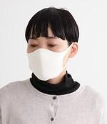 肌面シルク無縫製マスク(A・オフホワイト)